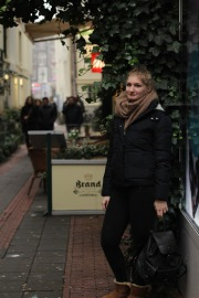 4 Girls in Amsterdam city